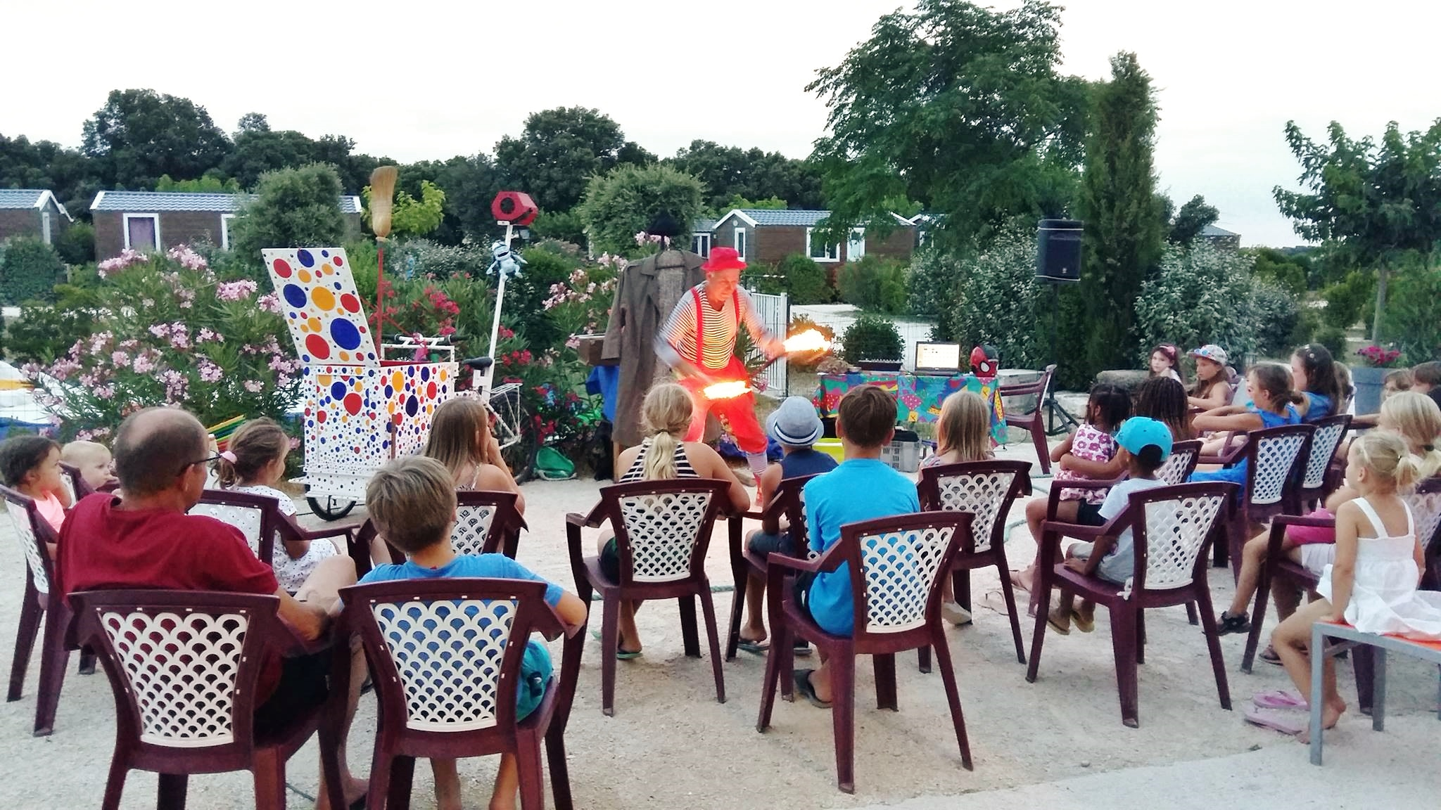 Clown animation enfants spectacle